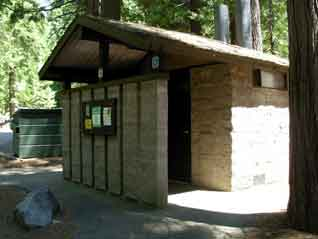 Picture of campground toilets